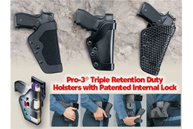 Uncle Mike's - PRO-3® Tactical Holster - Size 21 - Left Handed